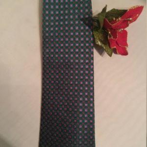 Burberry Silk Neat Tie in Jewel Tone Colors